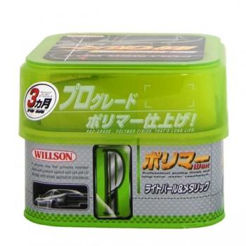 Полимерное покрытие Willson в виде супермягкого воска для автомобилей перламутрового цвета и светлых оттенков металлик